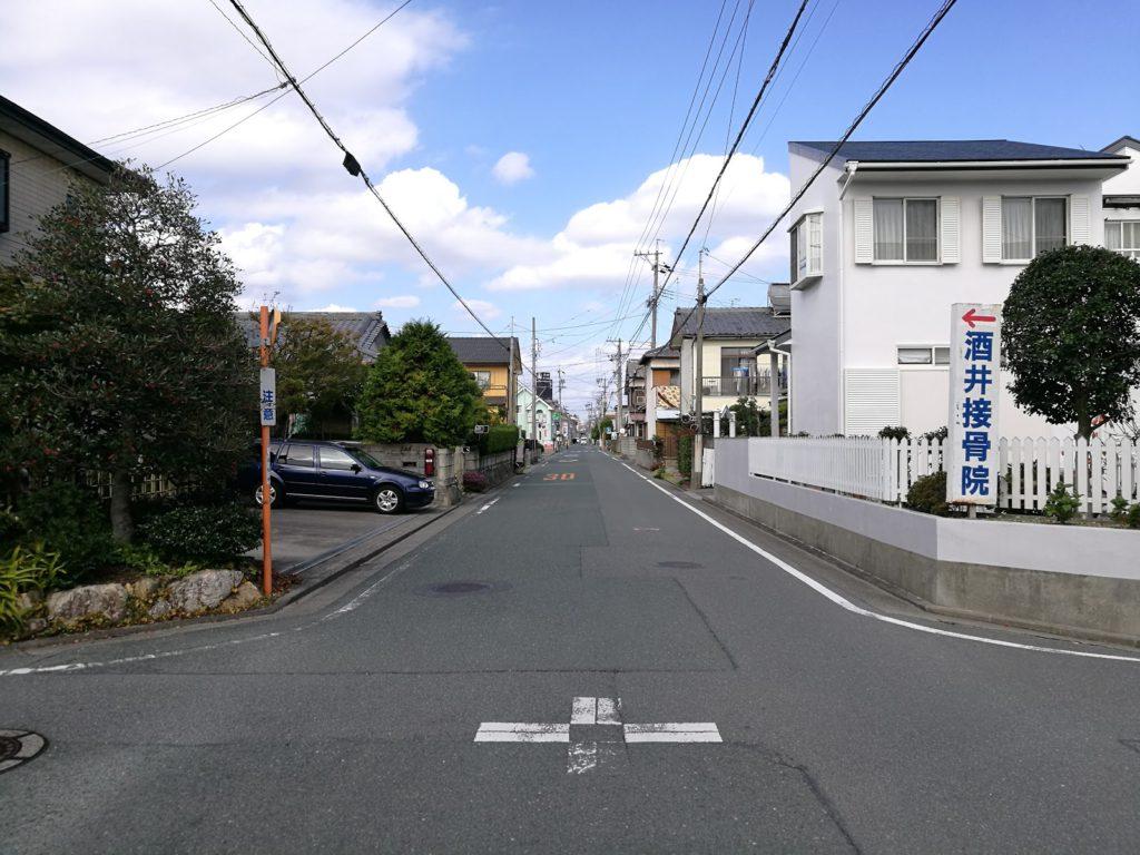 南浅田のバス停