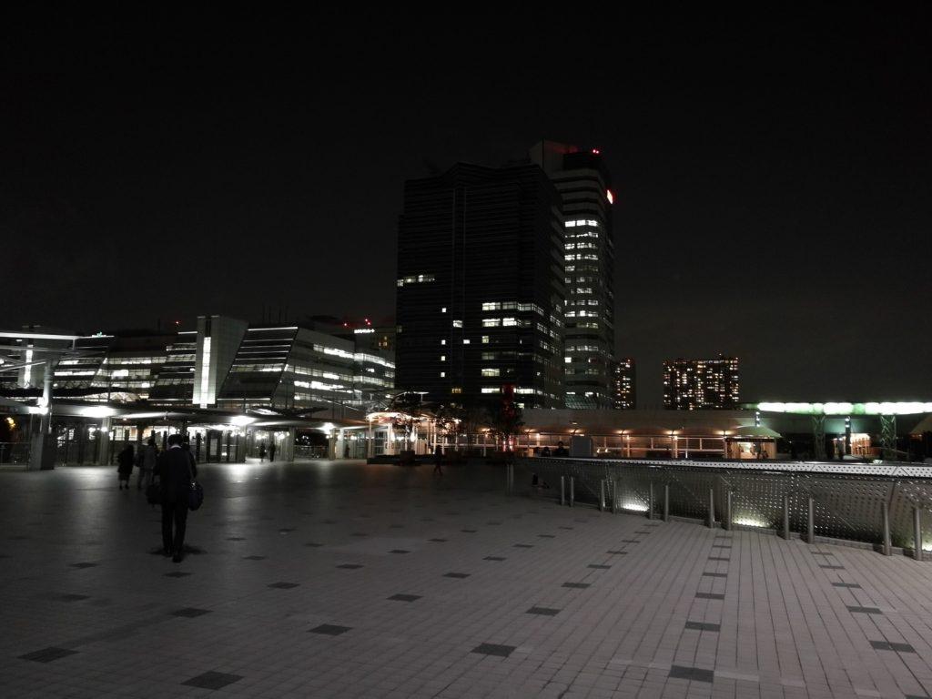 東京国際展示場の夜景
