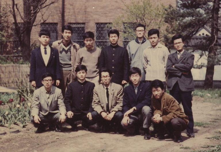 藝大建築昭和37年入学の12人