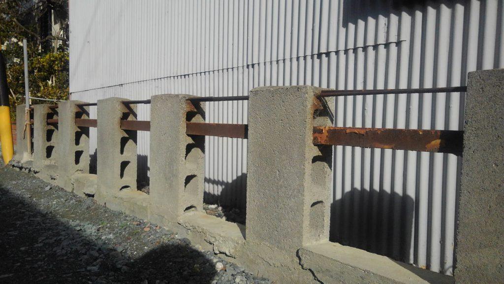 D.I.Y.の塀
