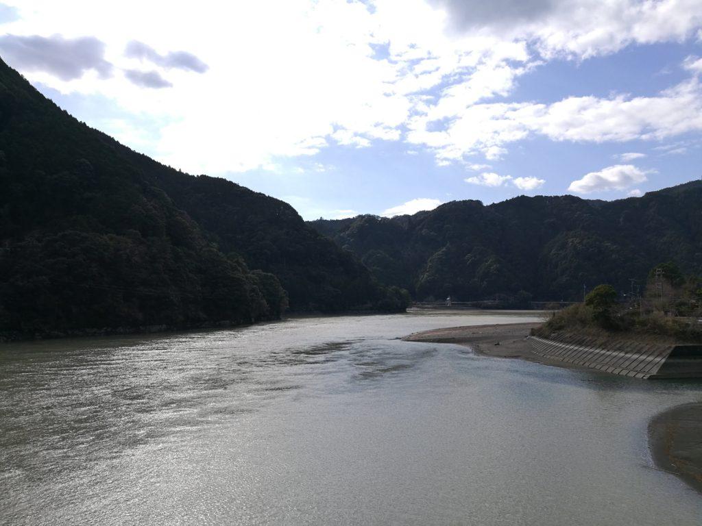 天竜川上流