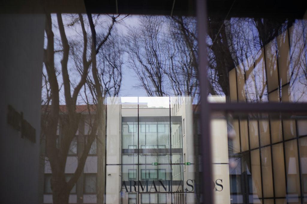 松澤穣ARMANIミラノのアルマーニ美術館SILOS