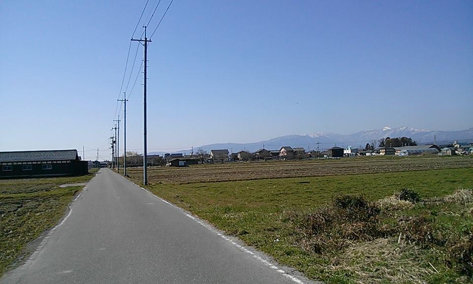 新旭駅周辺の田園
