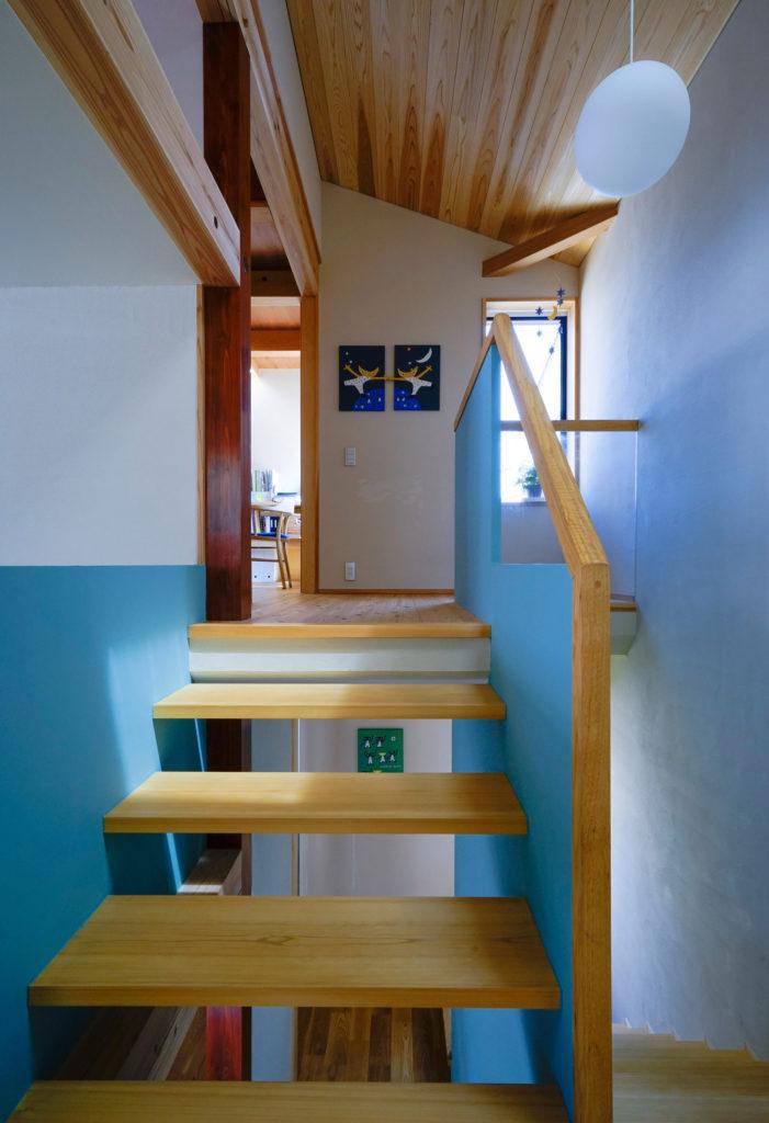 階段と作業室2