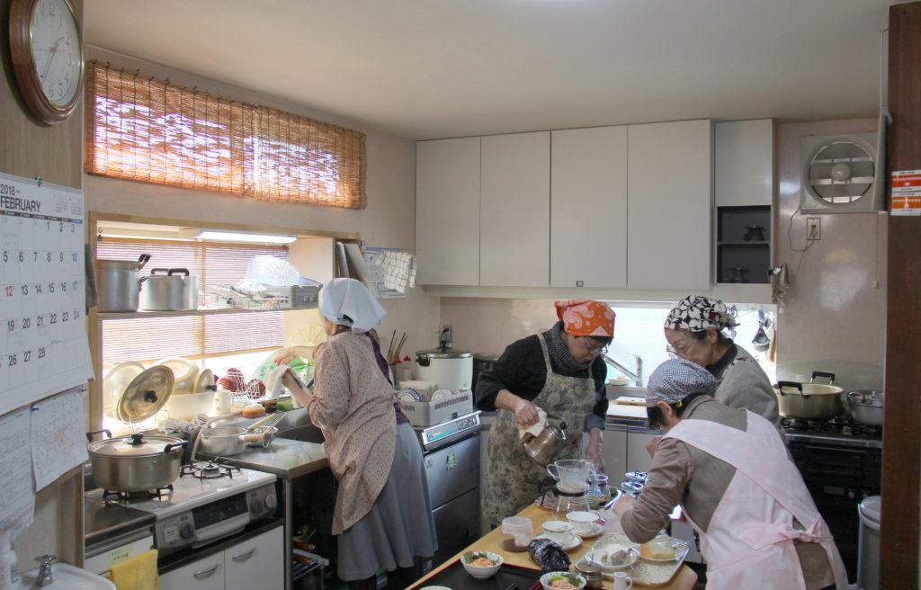 楽多舎のキッチン