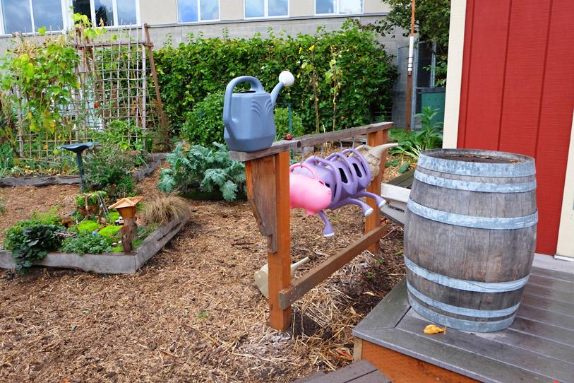 P-Patchの中の、Children's garden。子供用ジョーロ