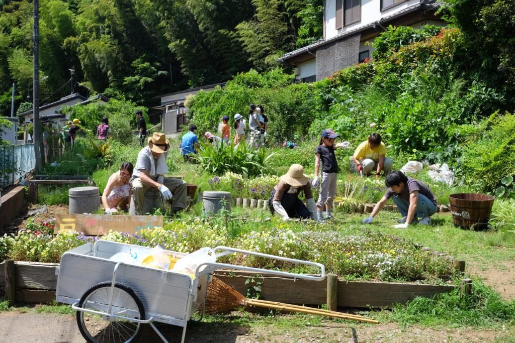コミュニティガーデン「戸定みんなの庭」