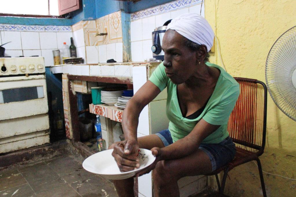 キューバの料理の盛り付け方