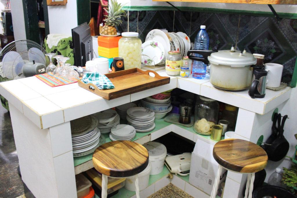 キューバの台所