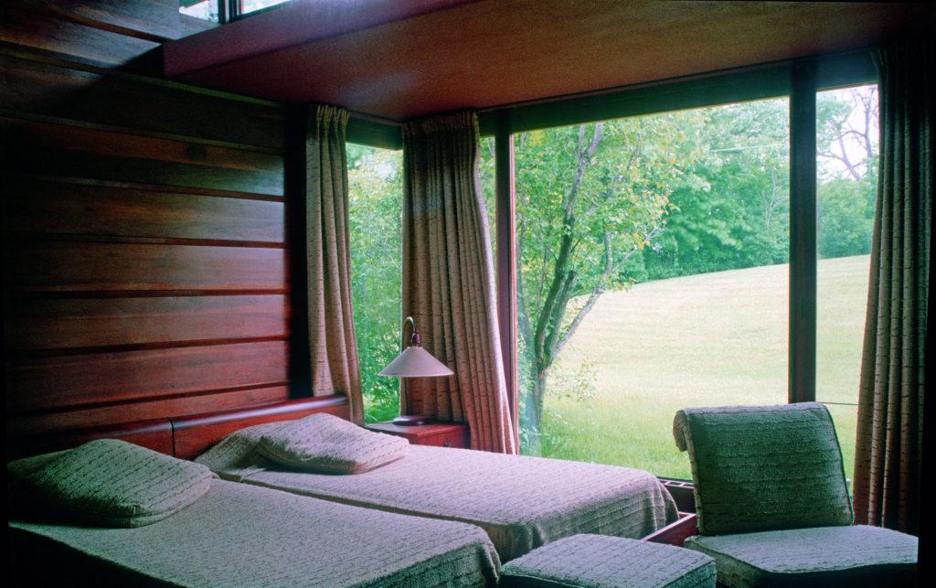 フランク・ロイド・ライトWalter邸の寝室
