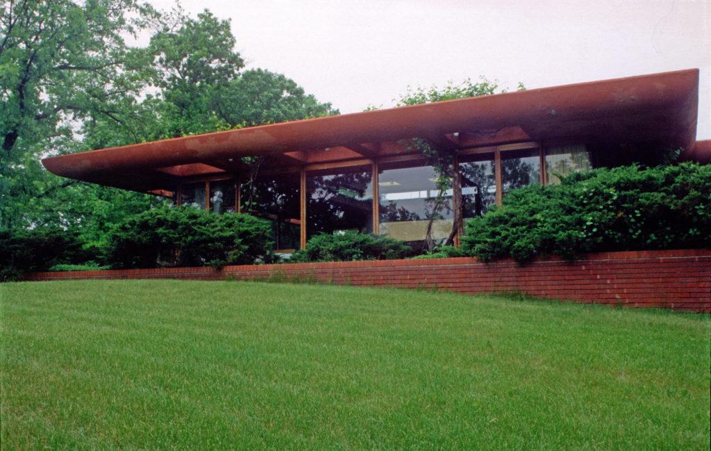 Frank Lloyd Wrightフランク・ロイド・ライトWalter邸外観