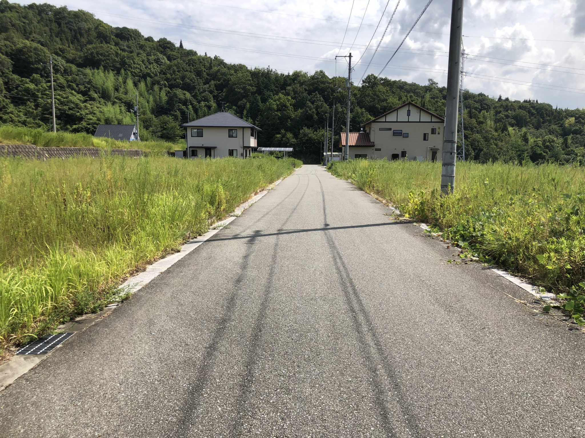 広島豪雨災害の木造応急仮設住宅建設地