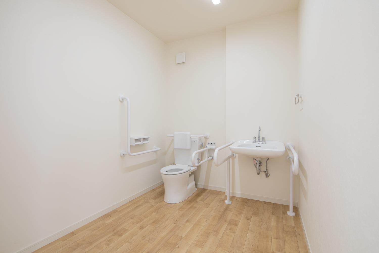 談話室のトイレ