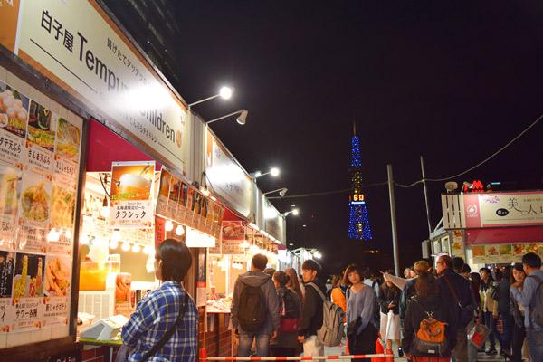 第4回 食べ歩きで感じる秋っていいでしょ 北海道札幌市 マルワホーム企画