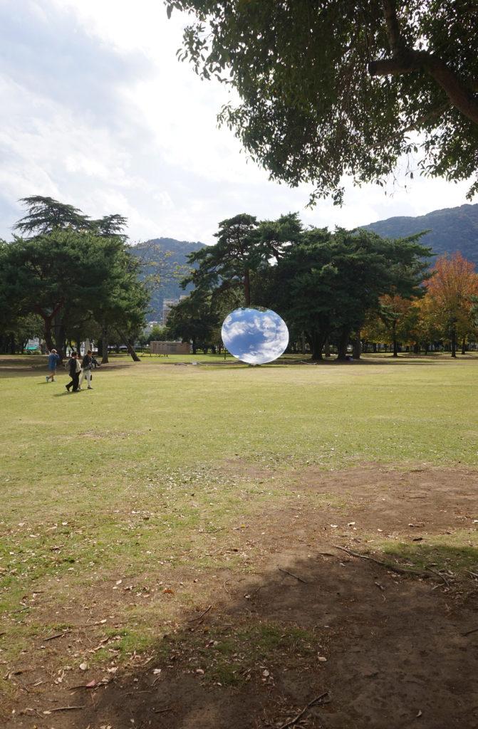 アニッシュ・カプーア作Sky mirror
