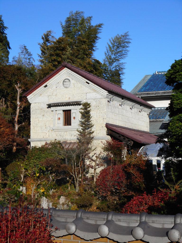 西根地区の徳次郎町の蔵