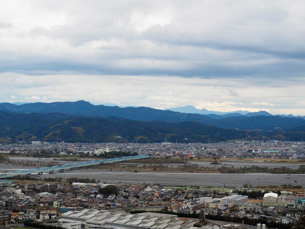 島田市の大井川