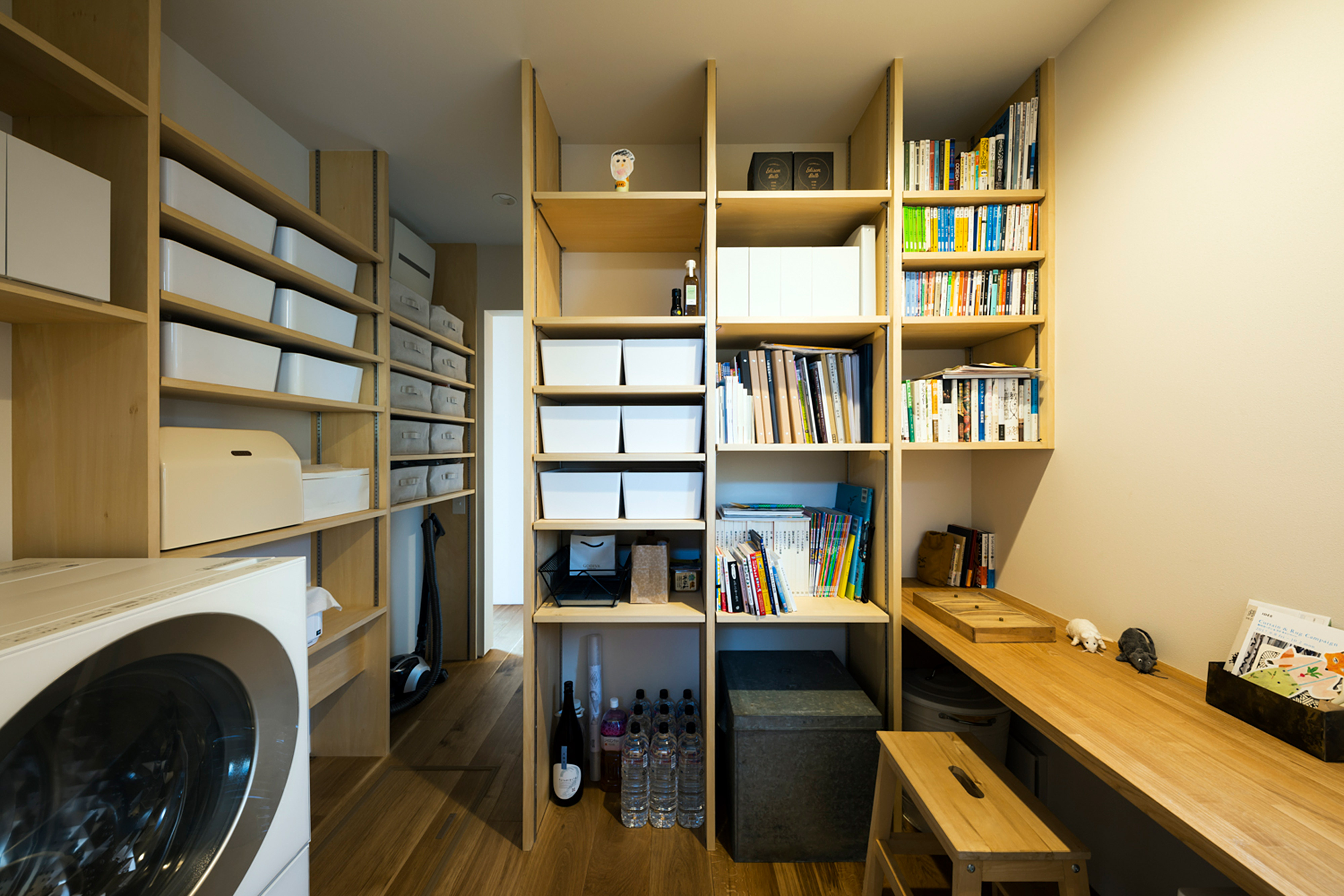 動線のいい家事室