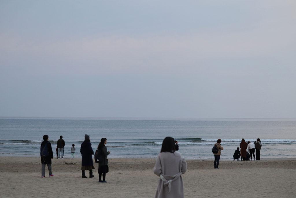 出雲大社の玄関稲佐の浜