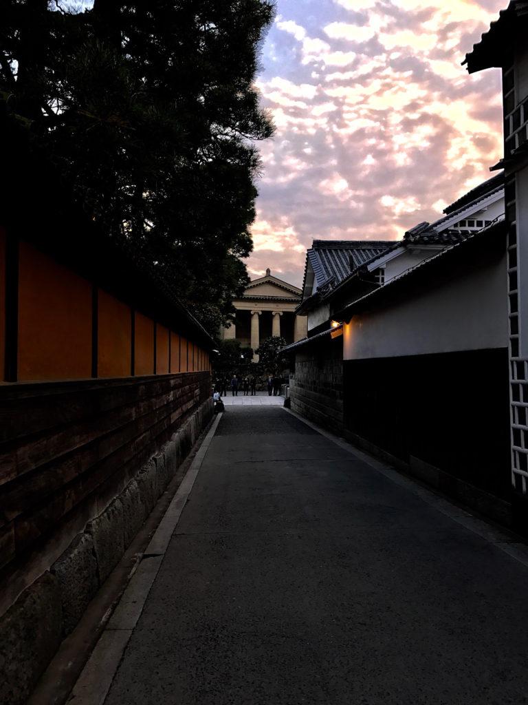 倉敷美観地区の路地