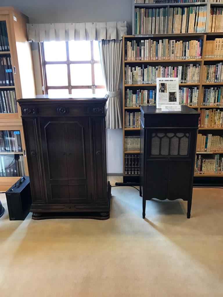 倉敷公民館内の音楽図書室