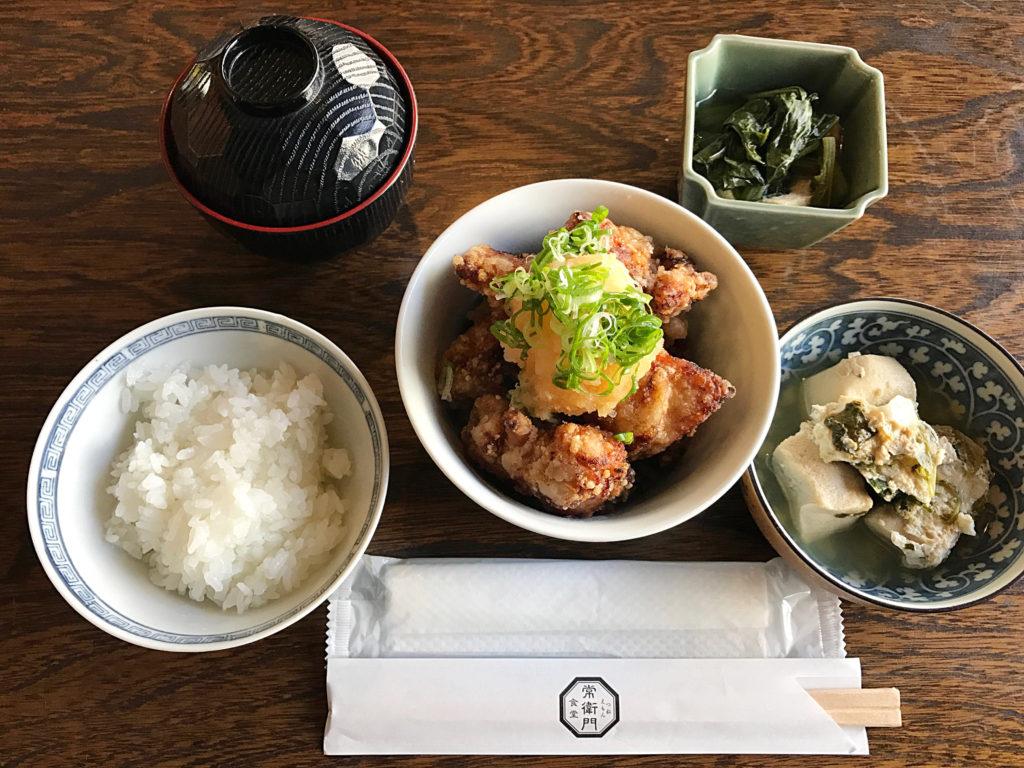倉敷さんぽで食べた常衛門食堂ランチメニュー