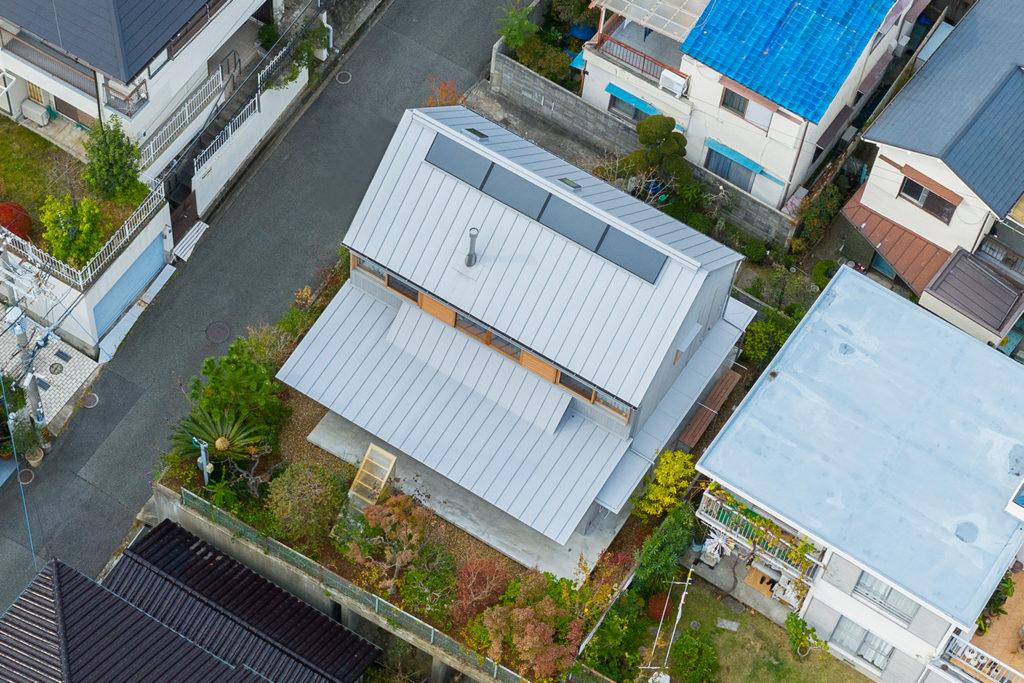 ninkipen!一級建築士事務所「と」の家を空から見る