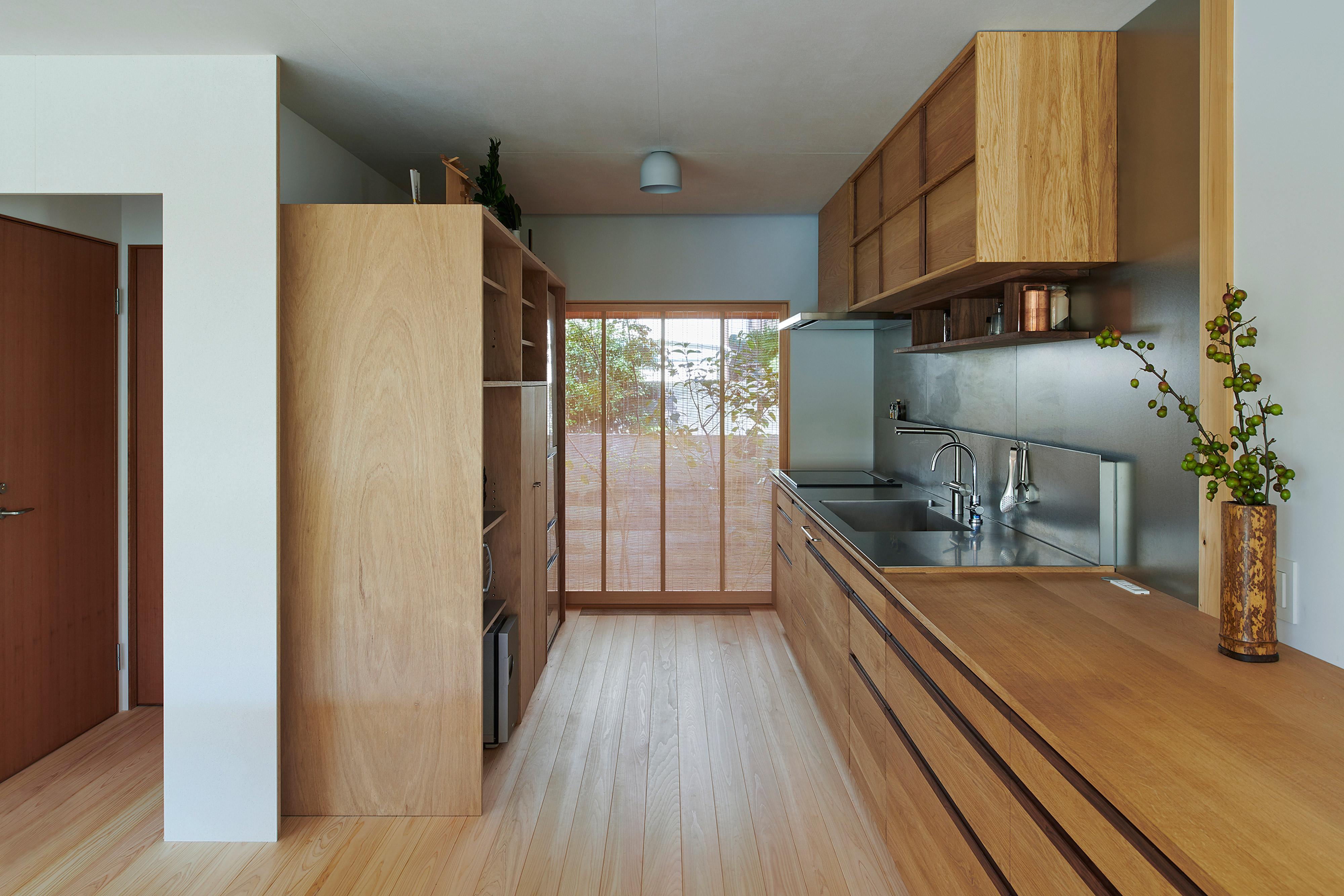 木製オリジナルキッチン