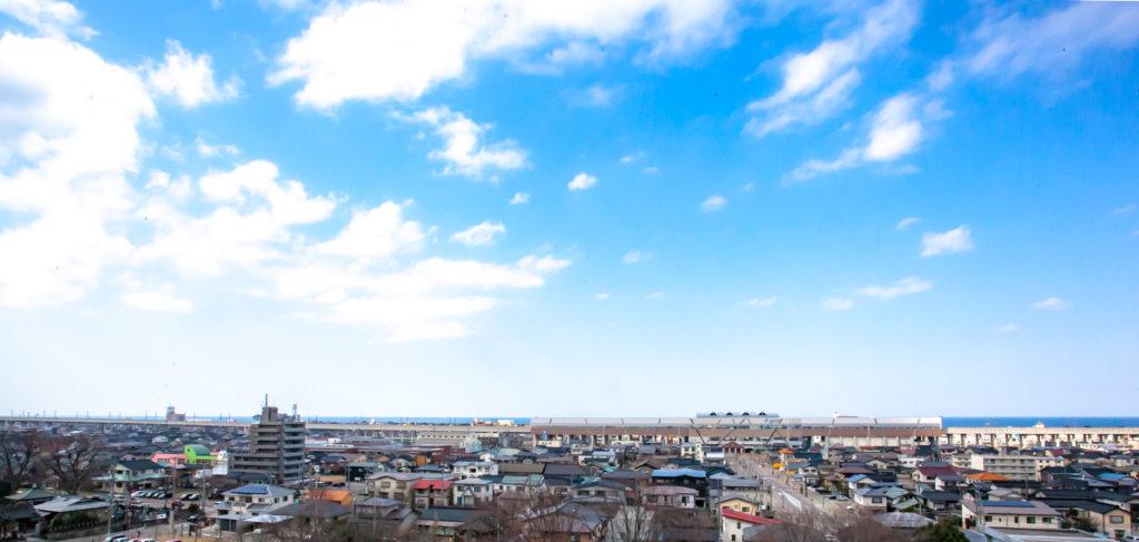 新潟県糸魚川市の風景
