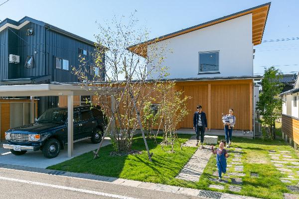 新潟県糸魚川市中央2-4-2カネタ建設施工事例