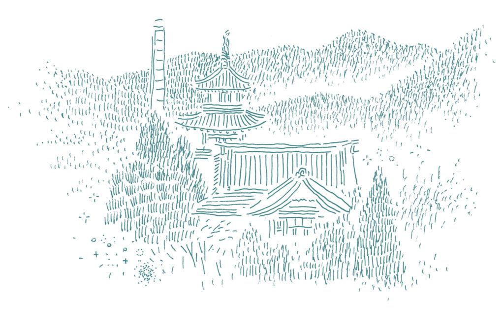箱根富士屋ホテルしゅんしゅん画