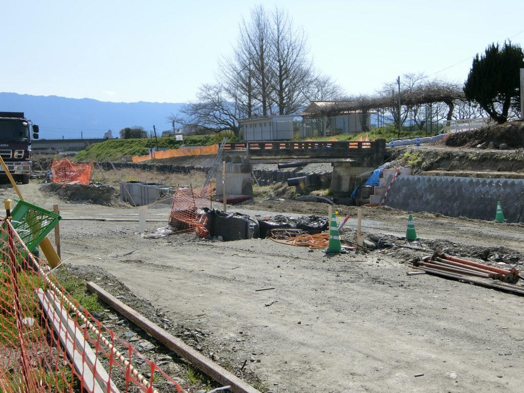 九州北部豪雨災害の復旧作業