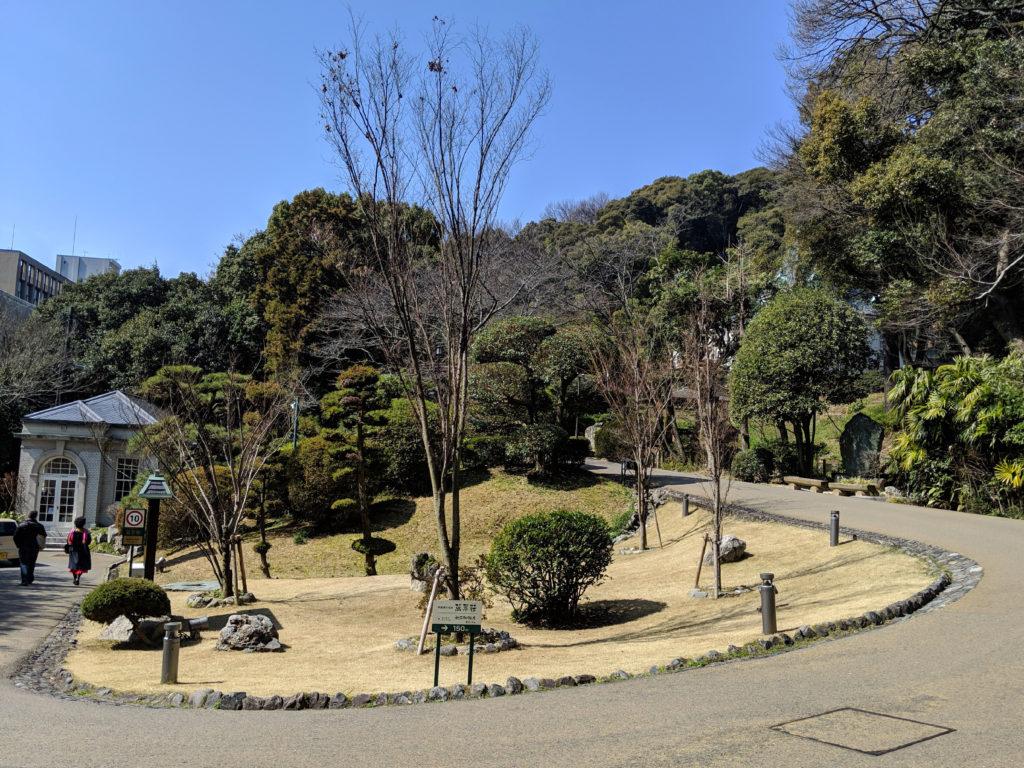 坂の上の雲ミュージアム庭園
