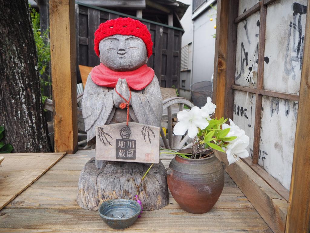 島田川越茶屋のお地蔵さん川留地蔵