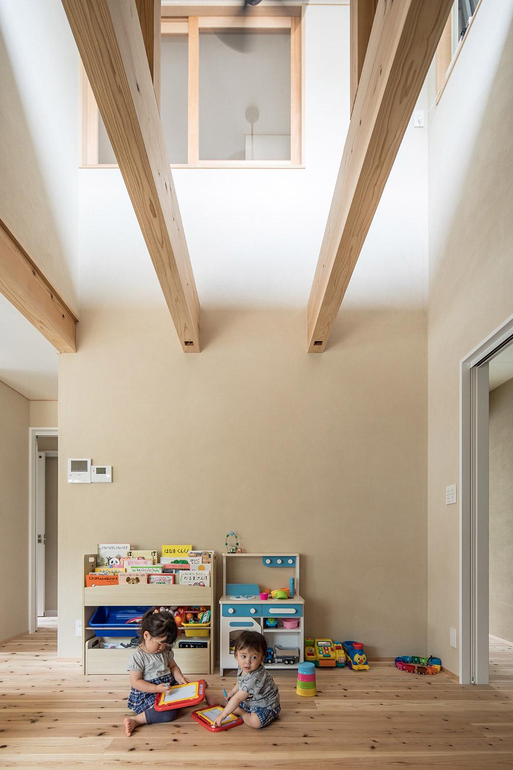 珪藻土で空気が綺麗な子供部屋