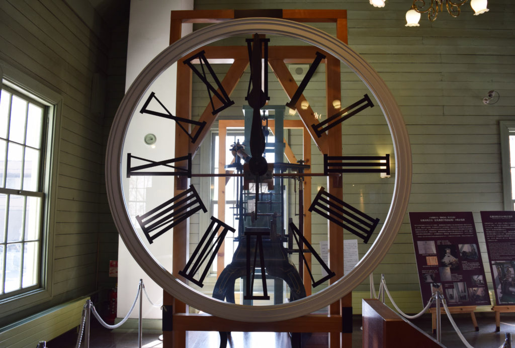 札幌時計台の文字盤資料