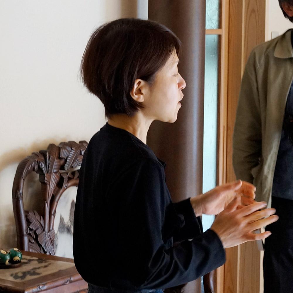 高津屋の伊藤志摩子さん