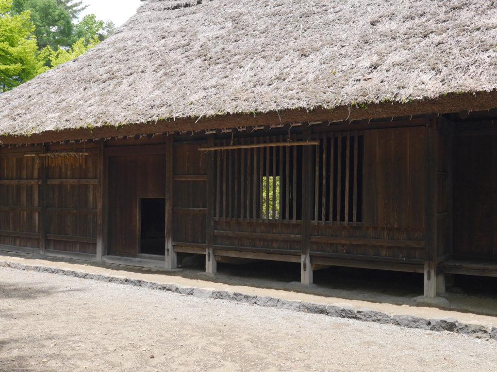 富士吉田市立郷土資料館の宮下家住宅