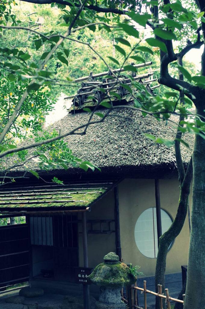 茶室隣池亭