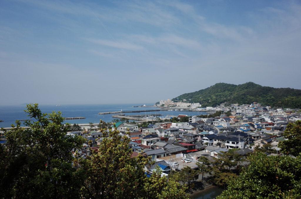 和歌浦の景色