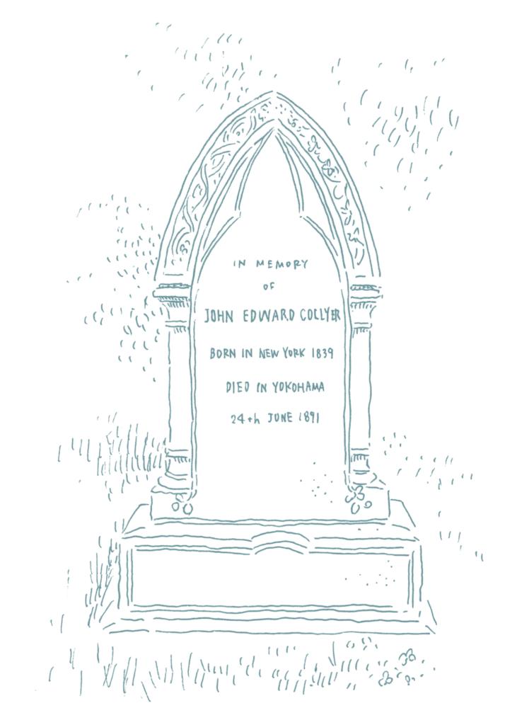 ジョン・エドワード・コーリアの墓