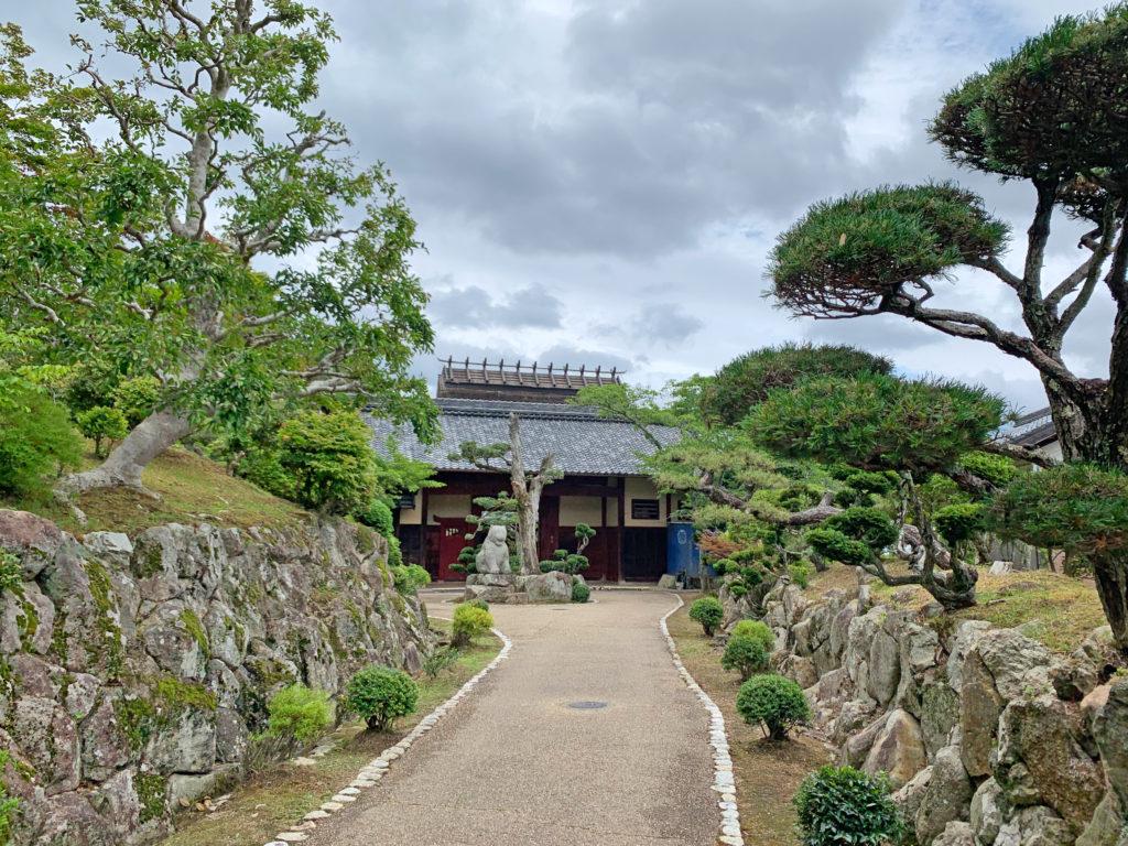 兵庫県の景観形成重要建築物に選ばれた静思館