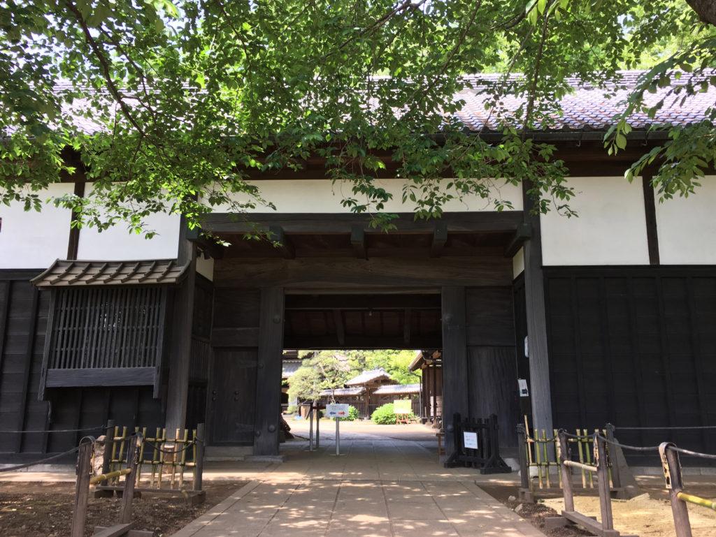 ドラマ『JIN』のロケ地長屋門