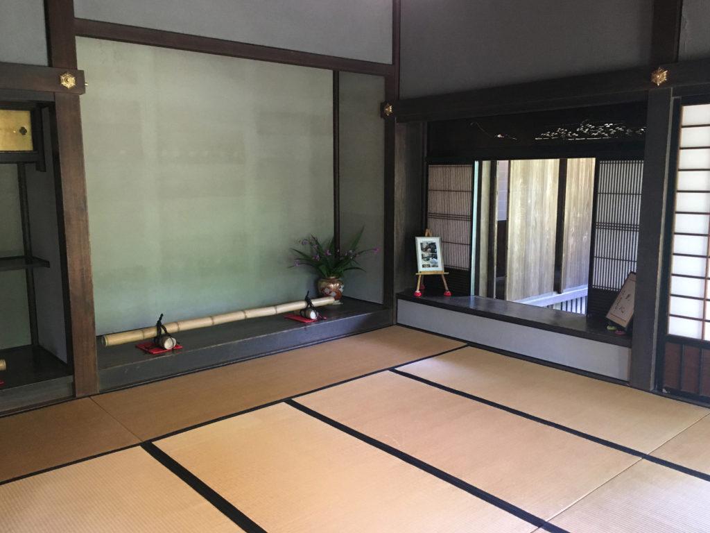 旧吉田家住宅の書院座敷