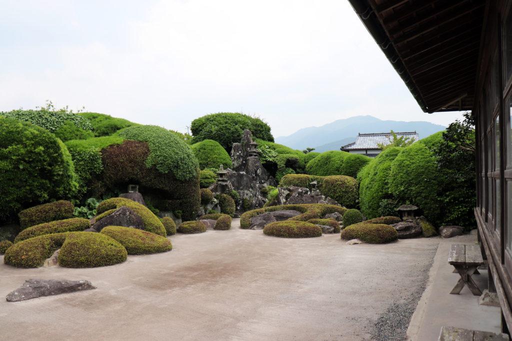 武家屋敷の日本庭園