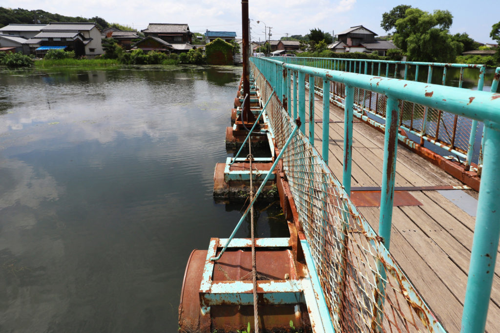 ドラム缶橋