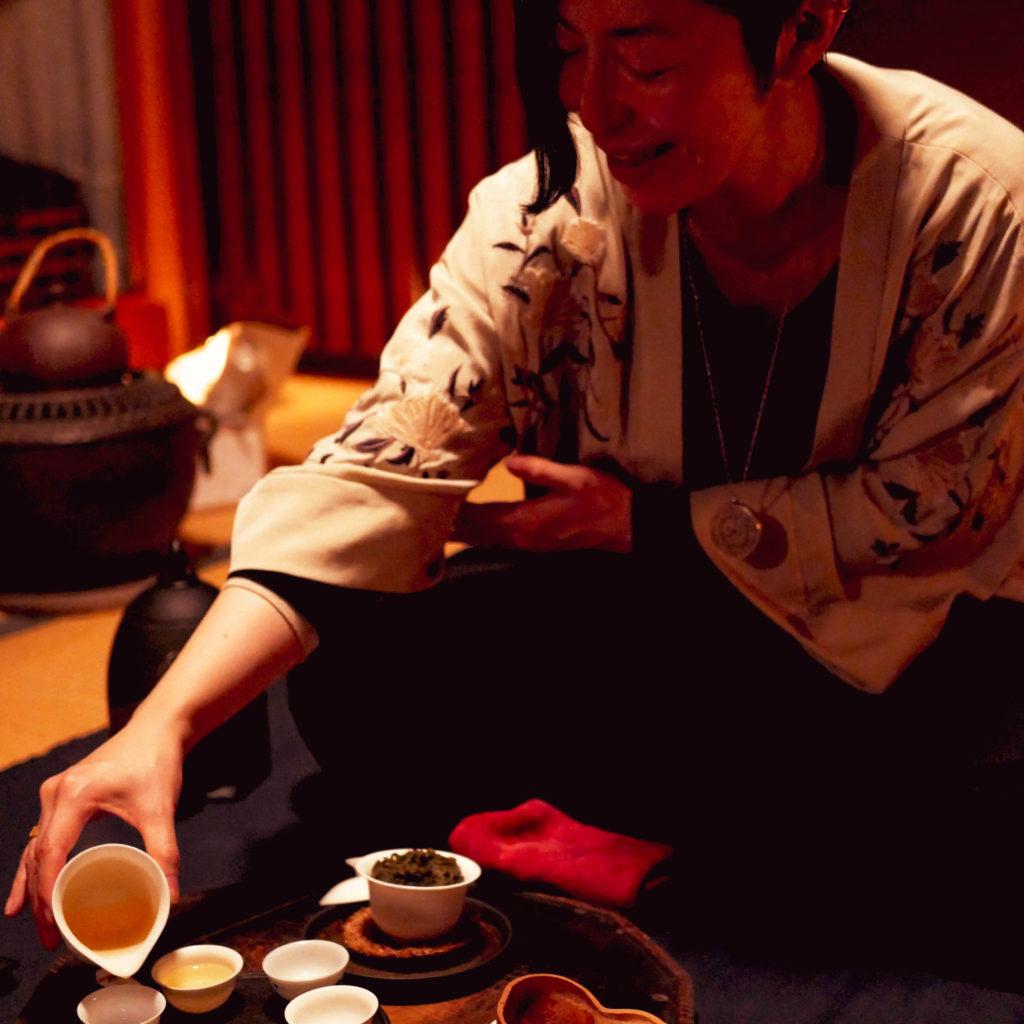 満月茶礼-望の茶稽古