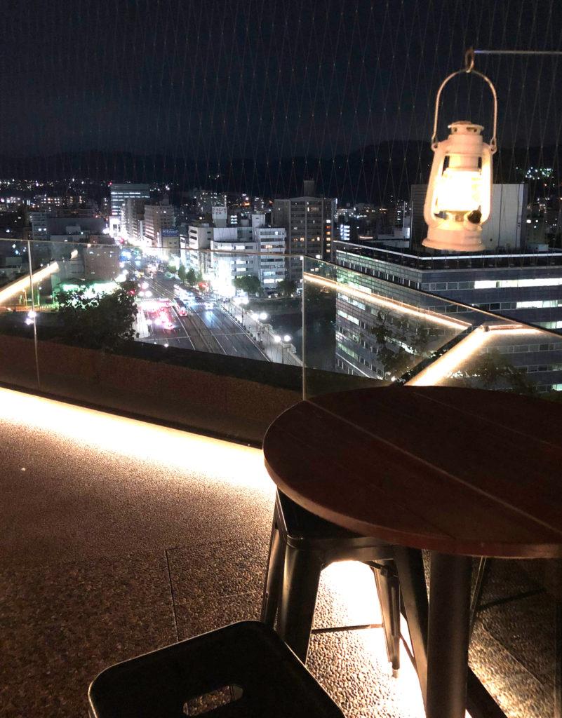 広島おりづるタワーから見える夜景