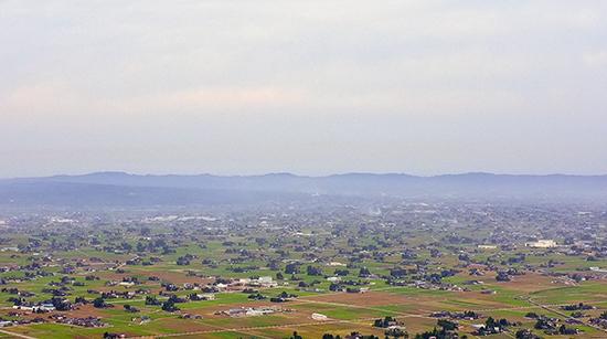 砺波平野の散居村