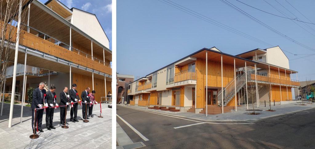 糸魚川大火からの復興のシンボル駅北復興住宅